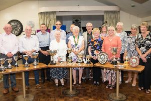 Holwell Sports Bowls Club winners for 2019 EMN-190924-150039002