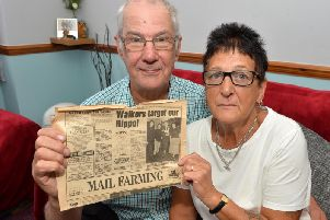 Carole and Allan Tilley want to know what happened to Hippo funds. PICTURE: ANDREW CARPENTER