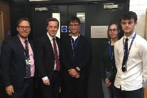 Tom Pursglove opened the centre on Friday.