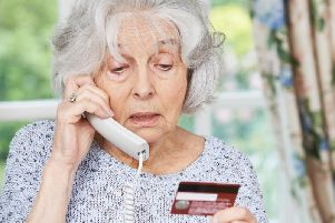 Never give your card or bank details out over the phone. No reputable organisation will ever ask you to do this.