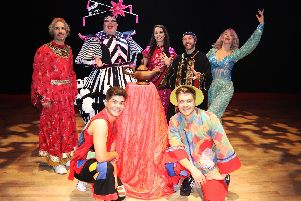 The production of Aladdin is the first professional pantomime to be put on in Wellingborough's Castle Theatre.