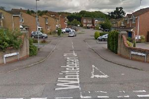 The incident took place in Whiteheart Close.