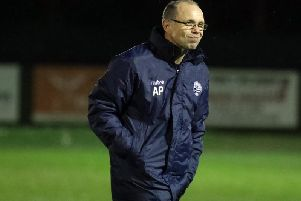 AFC Rushden & Diamonds boss Andy Peaks saw his team thrashed 8-2 at home by Bromsgrove Sporting