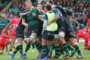 Saints are ready for a local derby at Welford Road this weekend