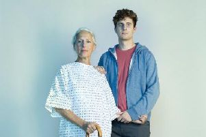 Jacqueline Krarup and her son, Ed will be on TV screens from Thursday, October 10.