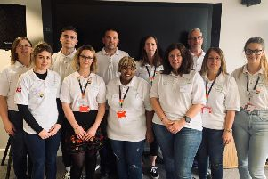 The RS Components mental health first aid team