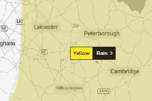 The warning is in place across Northants.