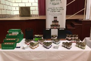 The Green Kitchen stall pictured at the Guildhall back in February.