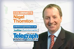 Thornton on Thursday column with Peterborough Telegraph's deputy editor Nigel Thornton - peterboroughtoday.co.uk