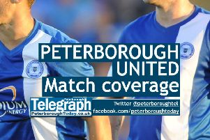 Peterborough United match action from the Peterborough Telegraph, peterboroughtoday.co.uk/posh @peterboroughtel on Twitter
