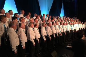 Men United in Song at The Cresset
