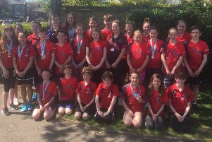 Deepings Swimming Club was the top visiting club at the Tulip Meet, winning 108 medals