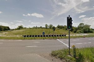 The A5 roundabout near Old Stratford (Picture: Google)