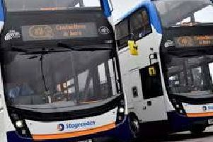 'We can use our bus passes virtually anywhere ... except on our doorstep'