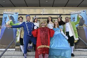 The promo for Cinderella at the Broadway Theatre