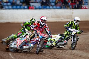 Peterborough Panthers in action.