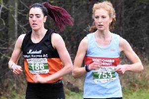 Rachel Robinson with Pippa Woolven (Wycombe).