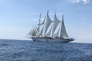 The magnificent Star Clipper under full sail