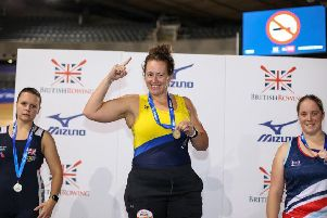 British number one. That's Peterborough City Rowing Club's Alice Mason.