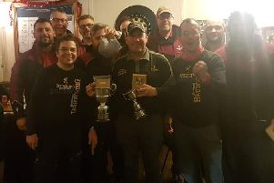 East Midlands League champions Browning Hotrods.