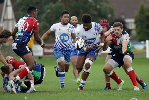 Peterborough Lions' flying Fijian winger Seva Bulamakau is fit again after three months out injured. Picture: Mick Sutterby