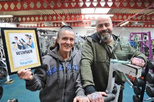Who will replace the Fitness Station as the Peterborough Telegraph Gym of the Year ?