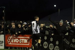 Elliot Sandy has hit 23 goals in all competitions for Corby Town this season and is now top of the goalscoring charts in the Evo-Stik League South Division One Central