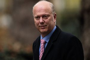 Transport Secretary Chris Grayling 775271819