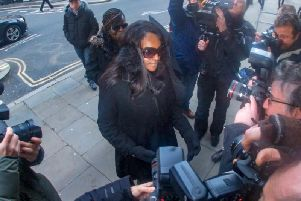 Fiona Onasanya arrives at court