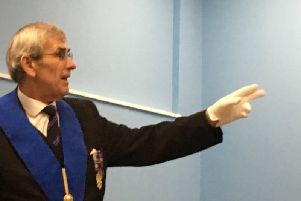 The talk by the Freemasons