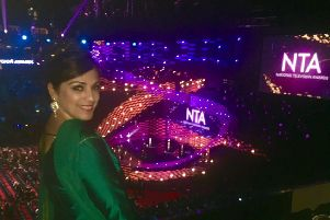 Parveen at the NTAs