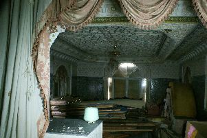 'The occupants seemed to be fleeing from something' Pictures show inside mysterious Mosaic House in Tring after it was suddenly abandoned before demolition