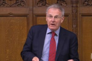 Christopher Chope during Friday's reading of the bill