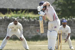 Pete Rowe batting for Ketton Sports against Barnack in Rutland Division One last season.