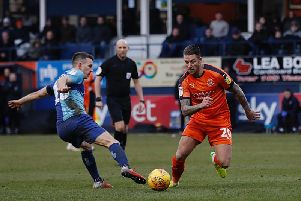 George Moncur gets away from his man on Saturday