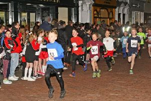 Junior Corporate Challenge race action last year / Picture by Derek Martin