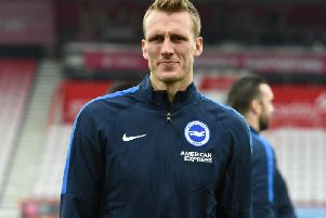 Brighton defender Dan Burn. Picture by PW Sporting Photography
