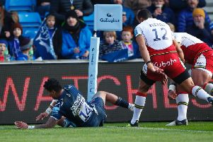 Saints were beaten by Denny Solomona and Sale back in November