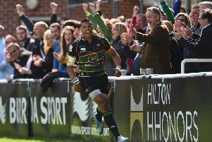 Luther Burrell became a key man at Saints
