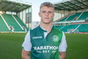 Tommy Block at Hibs / Picture: Hibernian FC