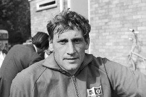Willie John McBride, a member of the British Lions rugby team set to tour Australia and New Zealand, 24th May 1971. (Photo by Reg Speller/Fox Photos/Hulton Archive/Getty Images)