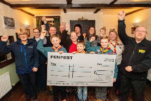 Five causes benefitted from the Fenfest event and received their share of the ?5,000 at The Plough inn at Horbling. EMN-190225-180022001