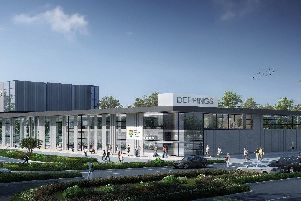 Artist impressions of the new centres