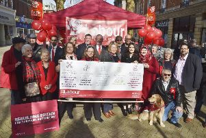 Labour Party campaign launch outside the Town Hall EMN-190203-174004009