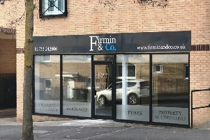The new offices of Firmin & Co at 343 Eagle Way.