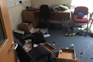 Coleriane Coastguard station was broken into and ransacked