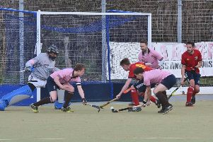 Action from City of Peterborough's National League win over Teddington. Photo: David Lowndes.