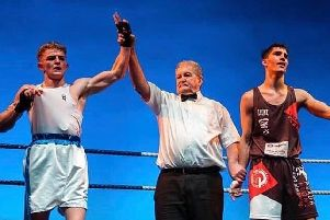 Frankie Storey gets the victory