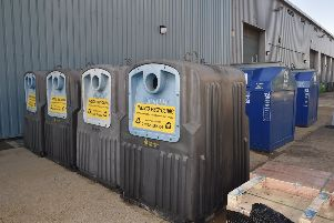 The new household recycling centre in Fengate