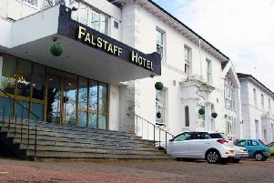 The Falstaff Hotel in Leamington